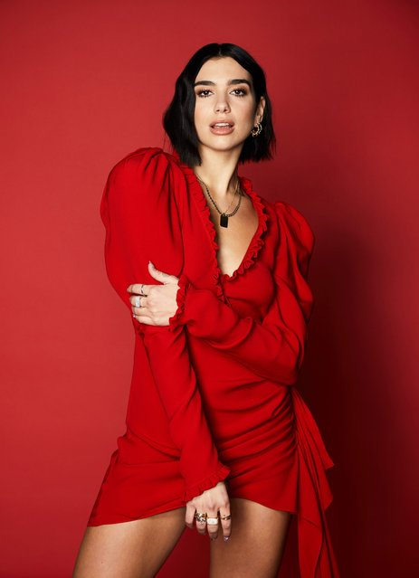 Dua Lipa attends 102.7 KIIS FM's Jingle Ball 2018 Presented by Capital One at The Forum on November 30, 2018 in Inglewood, California. (Photo by Sara Jaye Weiss/Rex Features/Shutterstock)