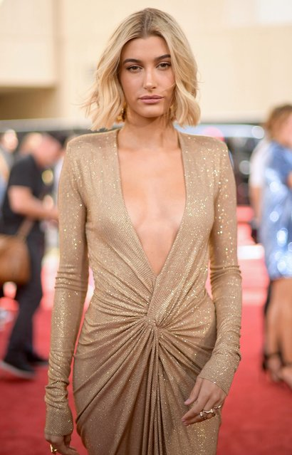 Model Hailey Baldwin attends the 2018 Billboard Music Awards at MGM Grand Garden Arena on May 20, 2018 in Las Vegas, Nevada. (Photo by Matt Winkelmeyer/Getty Images for dcp)