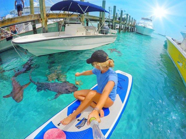 Amelia beat depression by embracing her incredible beach paradise lifestyle. (Photo by Amelia Klonaris/Mediadrumworld)