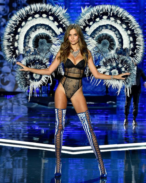 Josephine Skriver walks the runway during the 2017 Victoria's Secret Fashion Show In Shanghai at Mercedes-Benz Arena on November 20, 2017 in Shanghai, China. (Photo by Frazer Harrison/Getty Images for Victoria's Secret)