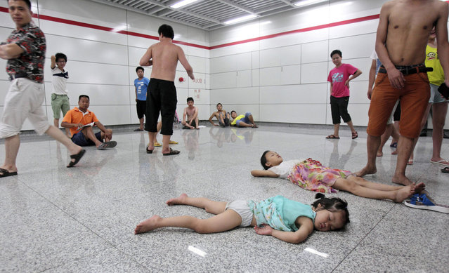 Heat Wave In China