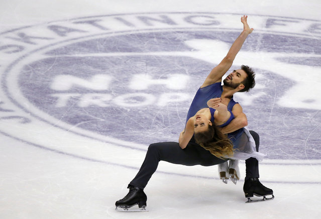 Figure Skating, ISU Grand Prix of Figure Skating NHK Trophy 2016/2017, Ice Dance Free Dance, Sapporo, Japan on November 27, 2016. Gabriella Papadakis and Guillaume Cizeron of France compete. (Photo by Issei Kato/Reuters)