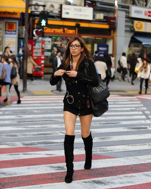 """Gourmet town"". Shibuya, 2012. (Asian (Street) Impressions)"