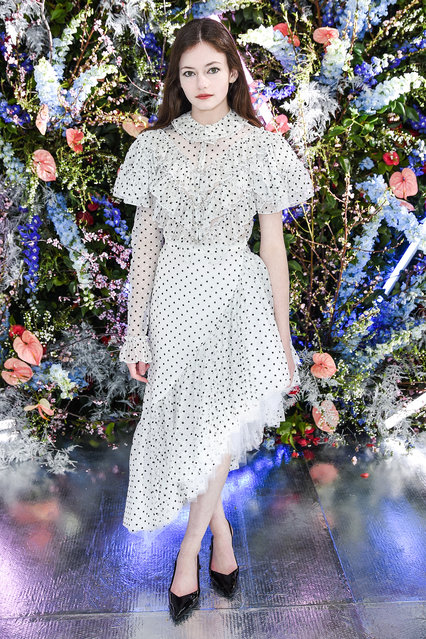 Mackenzie Foy attends Rodarte FW19 Fashion Show at The Huntington Library and Gardens on February 05, 2019 in San Marino, California. (Photo by Presley Ann/Patrick McMullan via Getty Images)