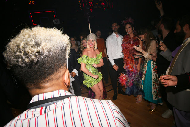 Katy Perry at the Gucci Met Gala : After Party on May 6, 2019 in New York City. (Photo by Madison McGaw/Angela Pham & Jo)