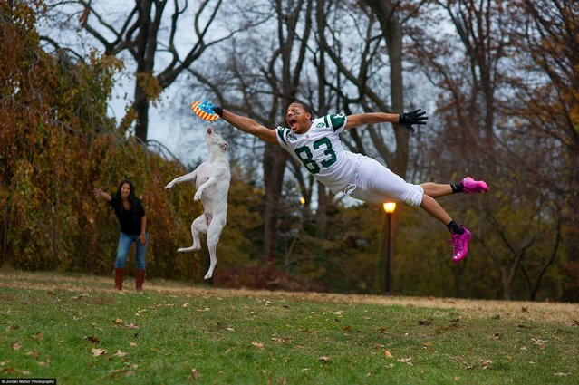 """Fetch"" – Chansi Stuckey – NY Jets Wide Receiver. (Photo by Jordan Matter)"
