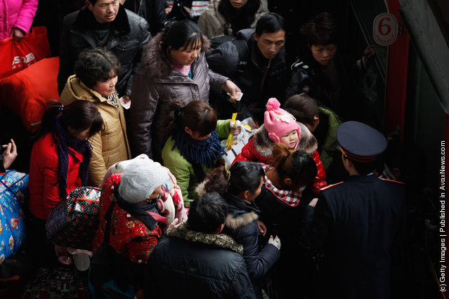 China Prepares For The Year Of Dragon