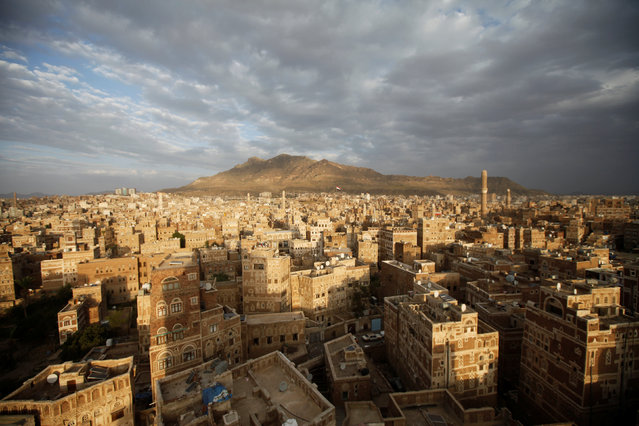 A general view of the Old City of Sanaa, Yemen, September 25, 2016. (Photo by Mohamed al-Sayaghi/Reuters)