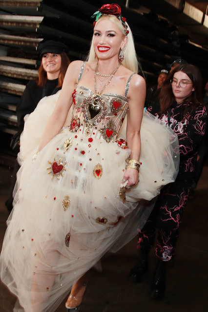 Gwen Stefani attends the 62nd Annual GRAMMY Awards at STAPLES Center on January 26, 2020 in Los Angeles, California. (Photo by Rich Fury/Getty Images for The Recording Academy)