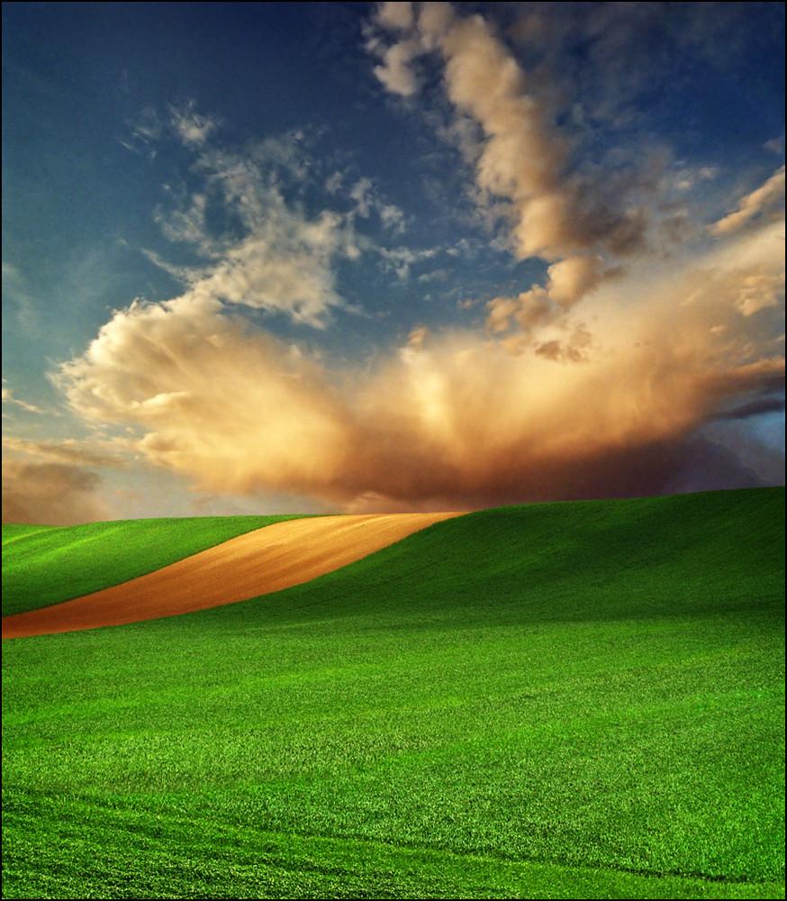 """Dreamland"". Landscapes by Katarina Stefanović"