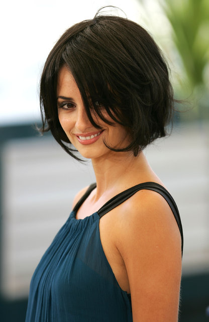 """Actress Penelope Cruz attends a photocall promoting the film """"Chromophobia"""" at the Palais during the 58th International Cannes Film Festival May 21, 2005 in Cannes, France. (Photo by M. J. Kim/Getty Images)"""