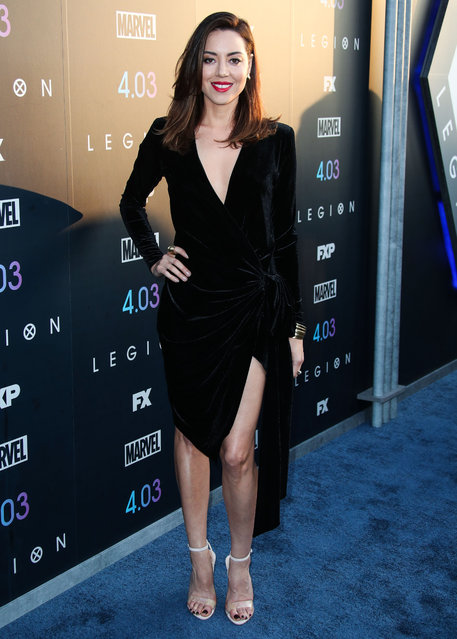 """Los Angeles Premiere of FX's """"Legion"""" Season 2 held at the Directors Guild of America Theatre on April 2, 2018 in West Hollywood, Los Angeles, California, United States. (Photo by Xavier Collin/Image Press Agency/Splash News)"""