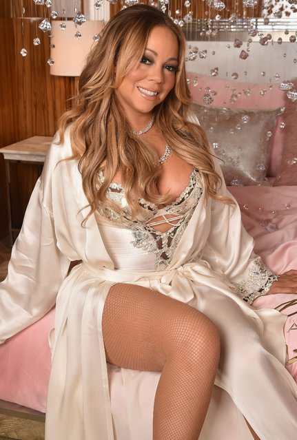 Mariah Carey attends the M.A.C Cosmetics Mariah Carey Beauty Icon Launch at Baccarat Hotel on December 3, 2016 in New York City. (Photo by Theo Wargo/Getty Images for M.A.C)