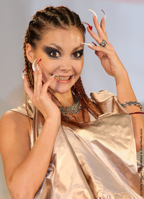 Singer Anna Tsuchiya attends the Nail Queen 2009 Awards Ceremony