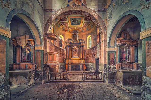 No More Preaching, No More Prayers. (Photo by Matthias Haker/Caters News)