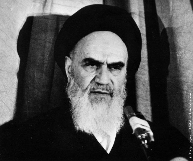 1979: Iranian leader, Ayatollah Imam Rouhollah Khomeini