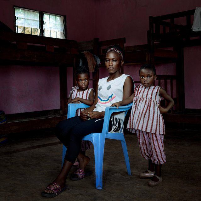 Portraiture finalist. Unsung Heroes is a project about violence against women around the world. The photograph said he wanted to show not just the suffering but the strength and resilience of the women. (Photo by Denis Rouvre/Sony World Photography Awards)