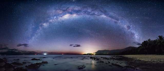 Coral Sea between Port Douglas and Cairns, Australia. (Photo by Wayne Pinkston/Caters News)