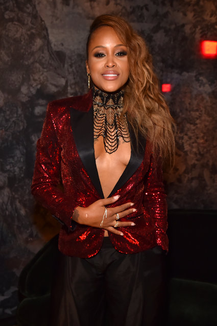 Recording artist Eve attends the Universal Music Group's 2018 After Party to celebrate the Grammy Awards presented by American Airlines and Citi at Spring Studios in New York City on January 28, 2018 in New York City. (Photo by Kevin Mazur/Getty Images for Universal Music Group)
