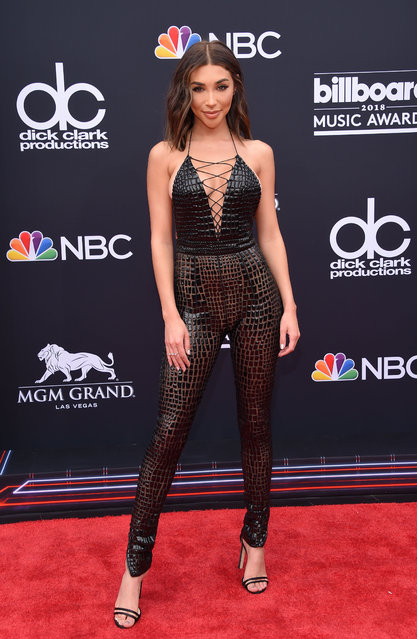 Recording artist Chantel Jeffries attends the 2018 Billboard Music Awards 2018 at the MGM Grand Resort International on May 20, 2018 in Las Vegas, Nevada. (Photo by Lisa O'Connor/AFP Photo)