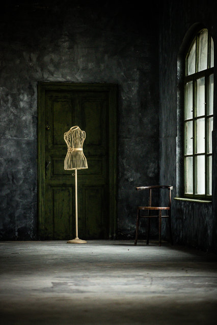 Category winner, open competition, object. Memento, depicting a tailor's mannequin in an empty room. For Zih, the stillness of the scene evokes a feeling of solitude and stirs up memories of lockdown. (Photo by Kata Zih/Sony World Photography Awards)