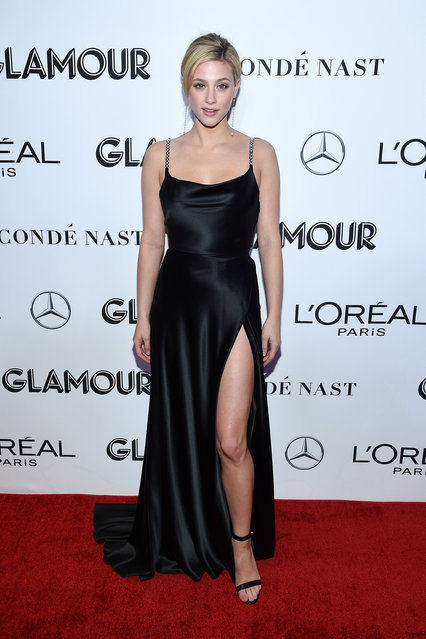 Lili Reinhart attends the 2018 Glamour Women Of The Year Awards: Women Rise on November 12, 2018 in New York City. (Photo by Dimitrios Kambouris/Getty Images for Glamour)