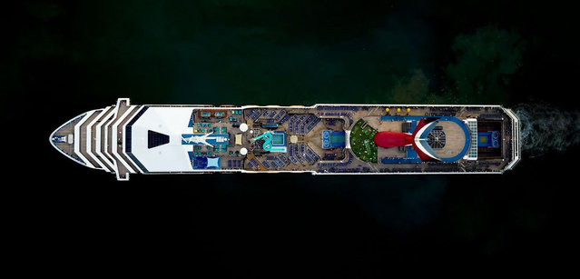 Biggest Cruise Ships By Jeffrey Milstein