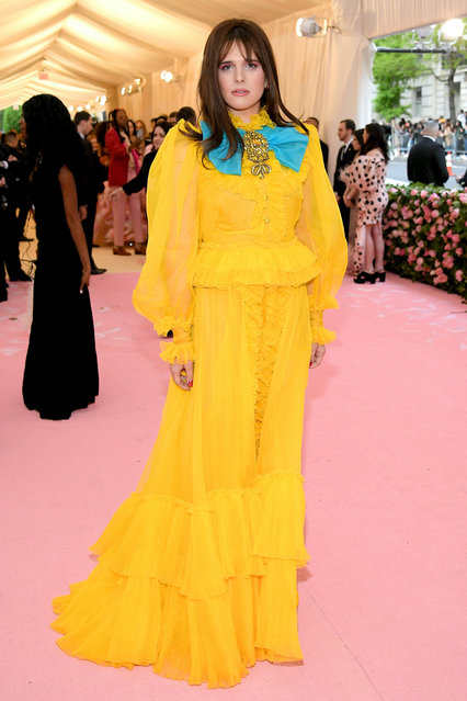 Hari Nef attends The 2019 Met Gala Celebrating Camp: Notes on Fashion at Metropolitan Museum of Art on May 06, 2019 in New York City. (Photo by Neilson Barnard/Getty Images)