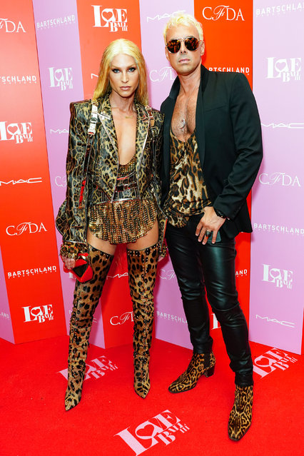 Phillipe Blond and David Blond attend the LOVE Ball III – Arrivals at Gotham Hall on June 25, 2019 in New York City. (Photo by Sean Zanni/Patrick McMullan via Getty Images)