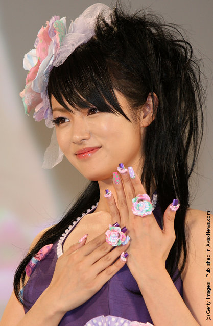 Japanese actress Kyoko Fukada attends the Nail Queen 2009 Awards Ceremony during the Tokyo Nail Expo 2009