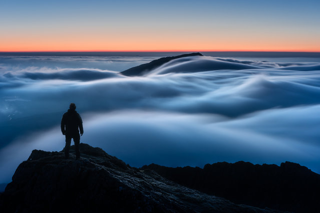 """Above My Expectations"". The overall winning image was taken by Gareth Mon Jones at dawn in Snowdonia, north-west Wales. (Photo by Gareth Mon Jones/2019 Weather Photographer of the Year/RMetS)"