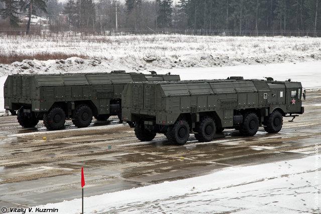 9P78-1 transporter erector launcher for Iskander-M system