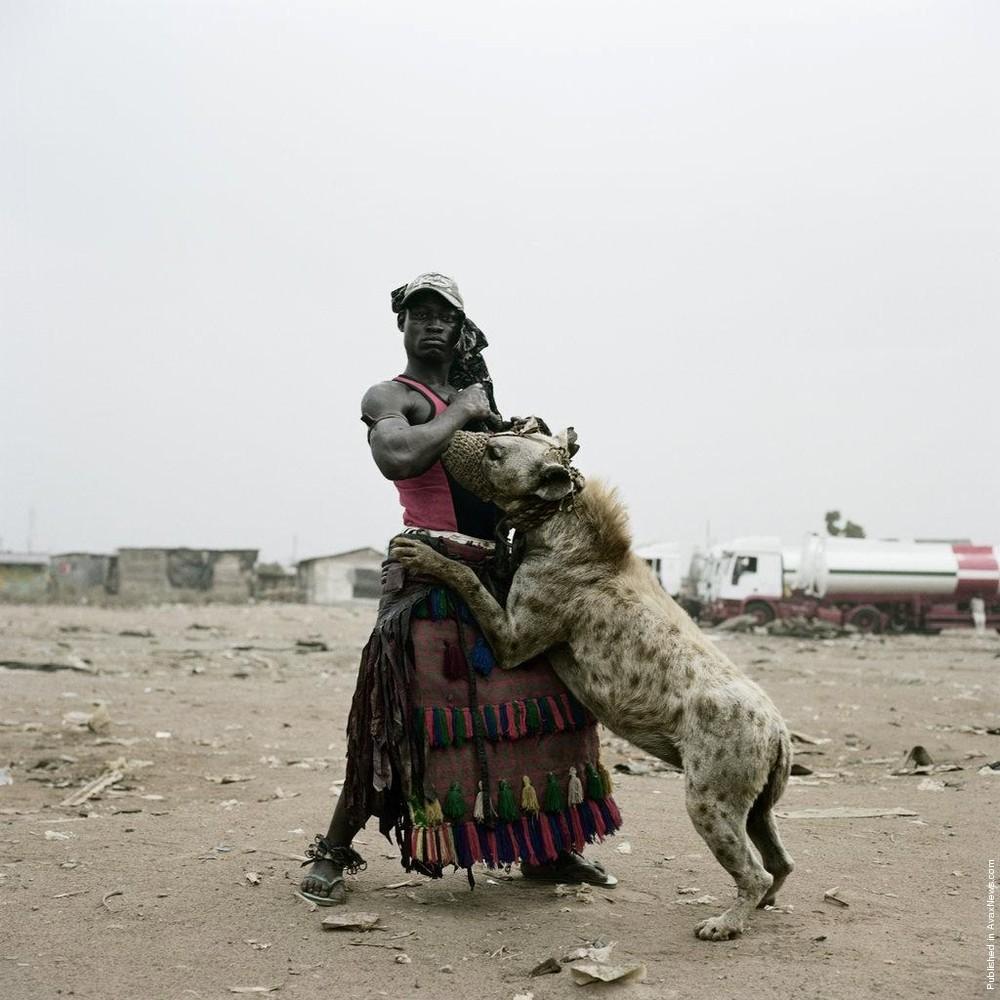 """Hyenas & Other Men"" by Pieter Hugo"