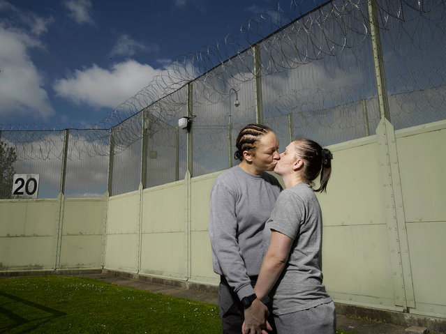 Portraiture shortlist. Richard Ansett's fascination with other people's lives led to a collaboration with the prisoners of HMP Foston Hall in Derbyshire. The aim of the project was to communicate to the outside world the effects of the women's incarceration, and how they try to make sense of their lives inside. (Photo by Richard Ansett/Sony World Photography Awards)