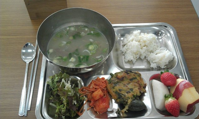 Lunches At A Korean Private School