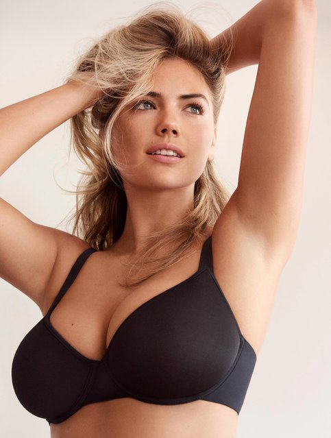 Kate Upton shows off a new bra for lingerie firm, Yamamay. She posed in the latest designs for photographer Giampaolo Sgura as part of the company's  CONFIDENT BEAUTY campaign. (Photo by Giampaolo Sgura/Yamamay/Splash News and Pictures)