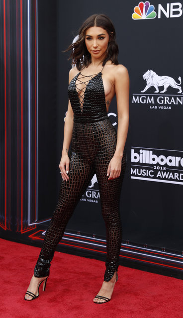 Chantel Jeffries attends the 2018 Billboard Music Awards at MGM Grand Garden Arena on May 20, 2018 in Las Vegas, Nevada. (Photo by Steve Marcus/Reuters)
