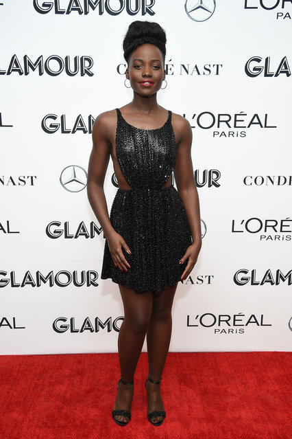 Lupita Nyong?o poses backstage at the 2018 Glamour Women Of The Year Awards: Women Rise on November 12, 2018 in New York City. (Photo by Dimitrios Kambouris/Getty Images for Glamour)