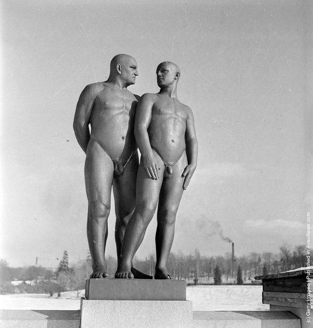 Gustav Vigeland Sculpture Park Masculine Love