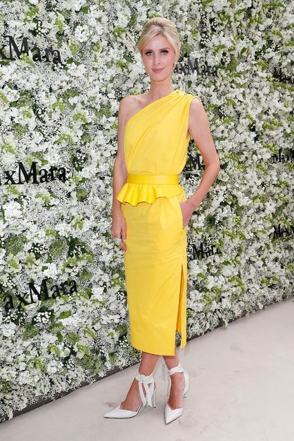 Nicky Hilton Rothschild during the Max Mara Resort 2020 Fashion Show at Neues Museum on June 3, 2019 in Berlin, Germany. (Photo by Franziska Krug/Getty Images for Max Mara)