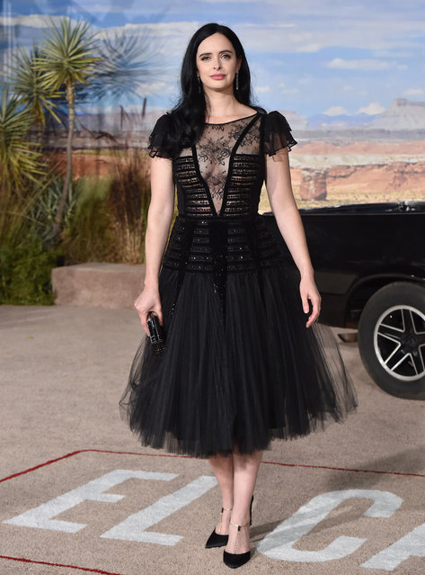 """Krysten Ritter attends the Premiere of Netflix's """"El Camino: A Breaking Bad Movie"""" at Regency Village Theatre on October 07, 2019 in Westwood, California. (Photo by Axelle/Bauer-Griffin/Getty Images)"""