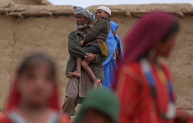 Massive Landslide Buries Remote Afghan Village