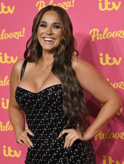 Vicky Pattison attends the ITV Palooza 2019 at The Royal Festival Hall on November 12, 2019 in London, England. (Photo by Anthony Harvey/Rex Features/Shutterstock)