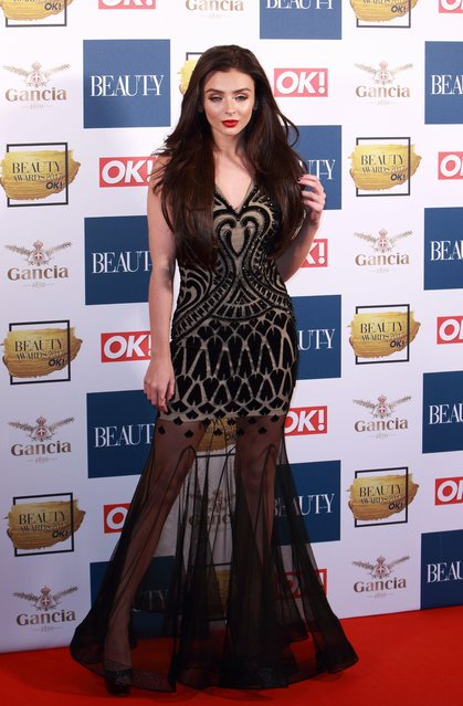Kady McDermott attends The Beauty Awards at Tower of London on November 28, 2017 in London, England. (Photo by Grant Buchanan/Silverhub/Rex Features/Shutterstock)