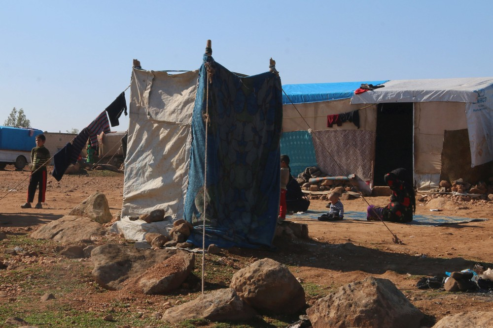 A Look at Life in Refugee Camp in Syria