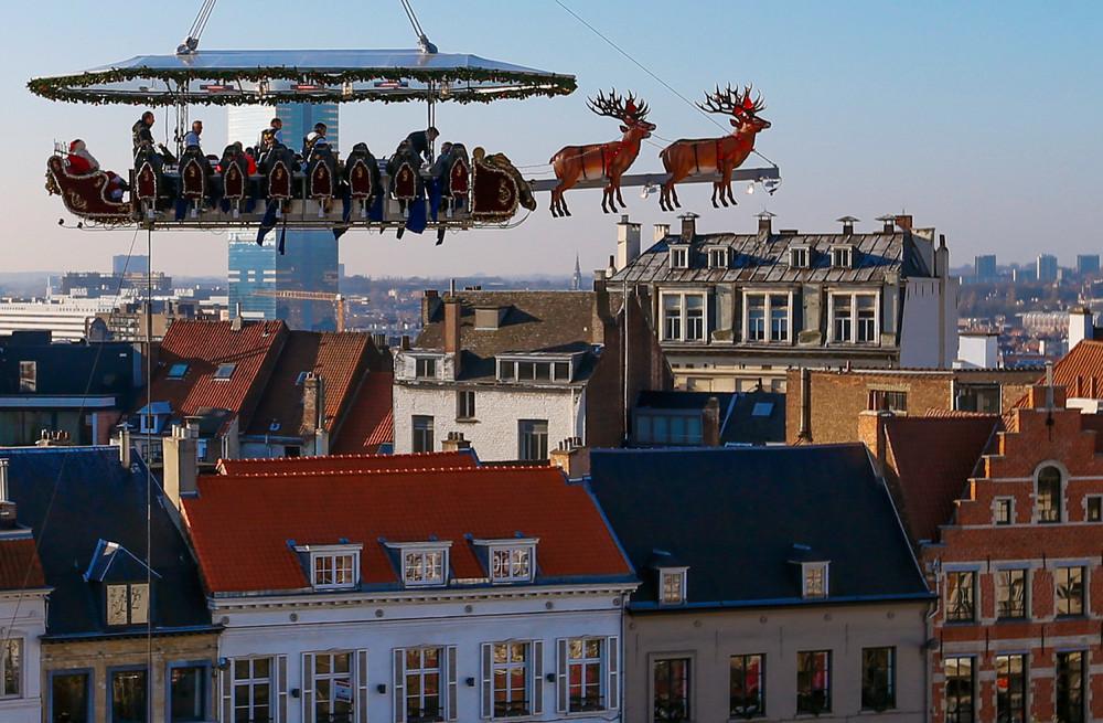 """""""Santa in the Sky"""""""