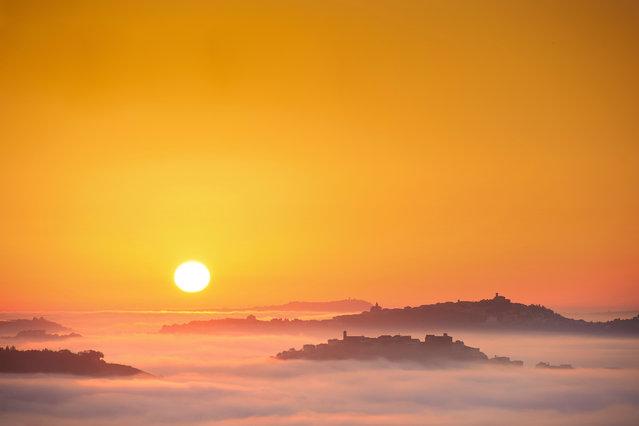 """Il Sole"". (Photo and caption by Massimo Feliziani)"