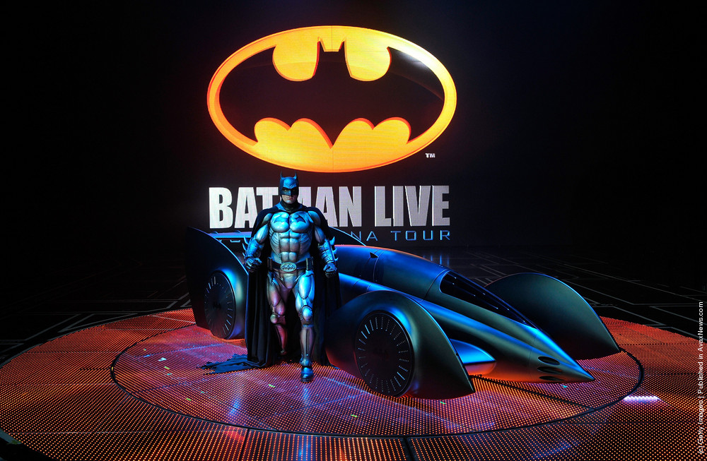 Batman Live – Rehearsals