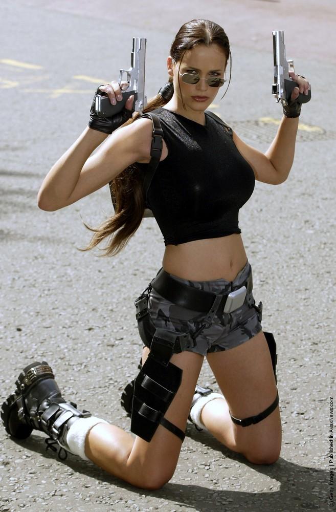 The Many-sided Lara Croft