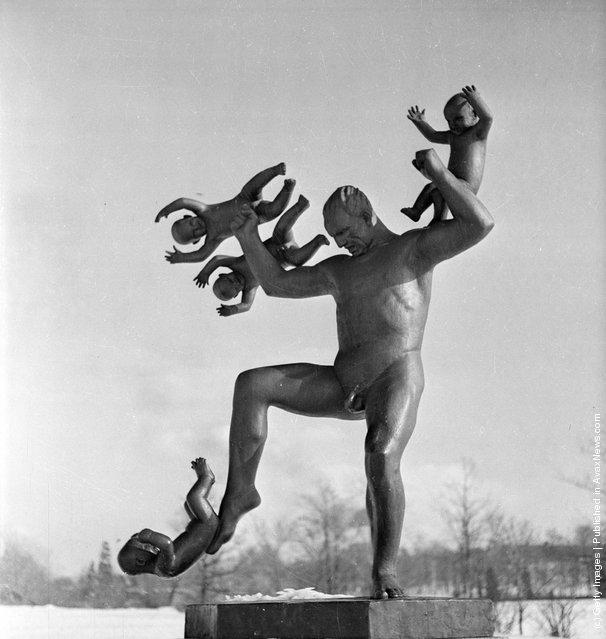 Gustav Vigeland Sculpture Park Reluctant Father